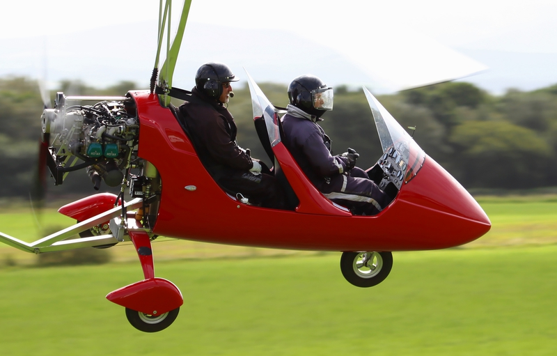 Photos of Gyroplane Flights